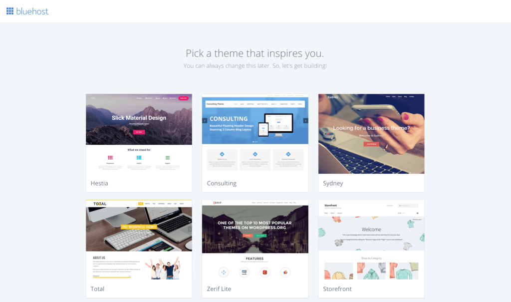 bluehost-pick-wordpress-theme