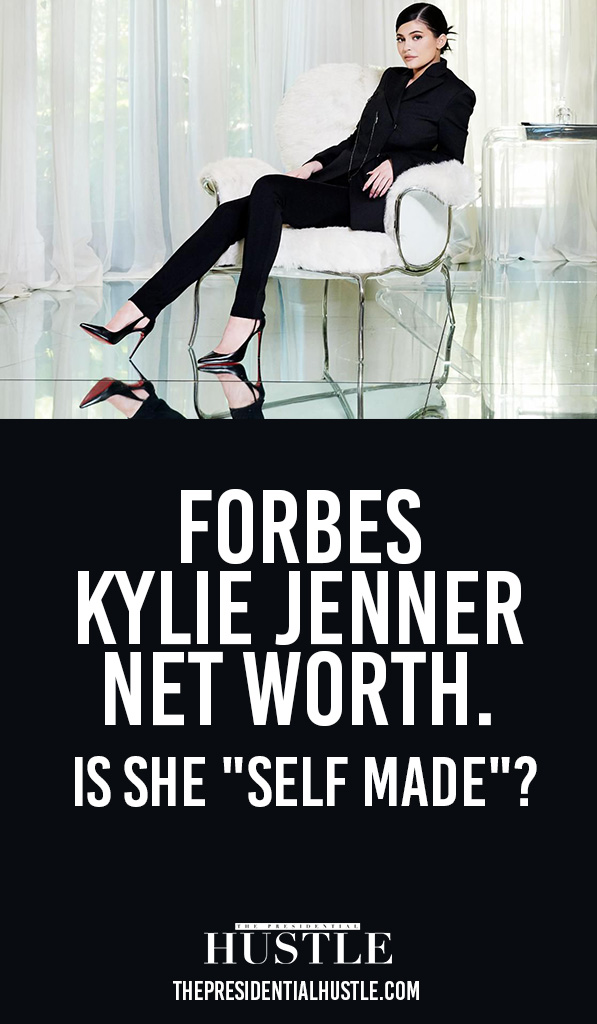 forbes kylie jenner net worth